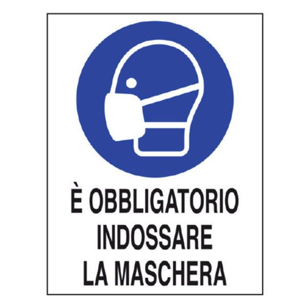 Adesivo Obbligo mascherine