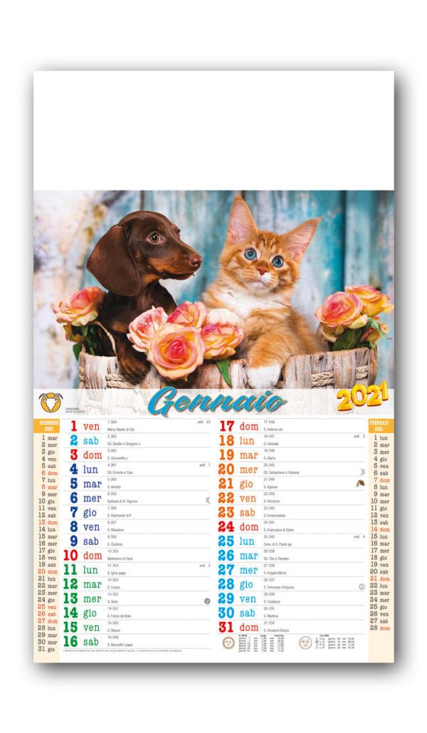 Calendario cani e gatti 154