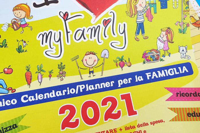 calendario myfamily per la famiglia