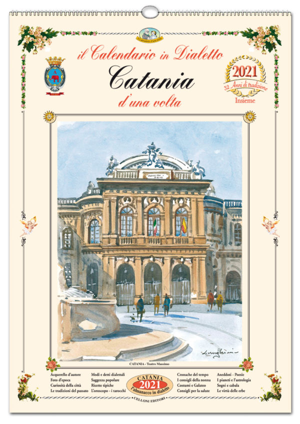 calendario dialetto 100 Catania