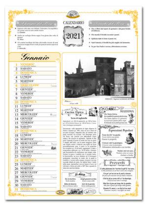 calendario dialetto 019 interno Fidenza