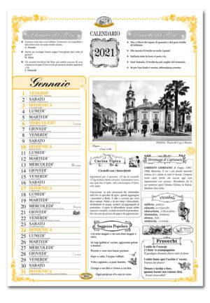 calendario dialetto 021 interno Foggia