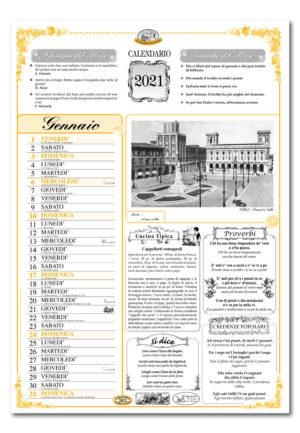 calendario dialetto 022 interno Forlì