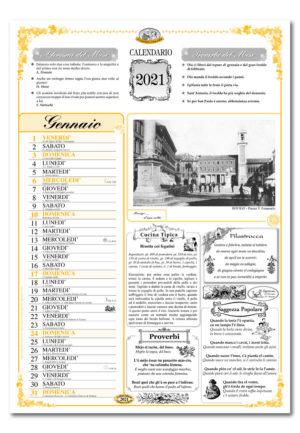 calendario dialetto 053 interno Rovigo