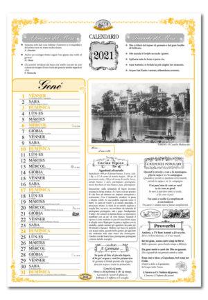 calendario dialetto 060 interno Torino