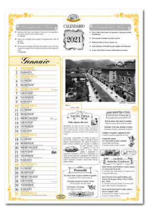 calendario dialetto 061 interno Trento