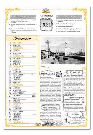calendario dialetto 068 interno Viareggio