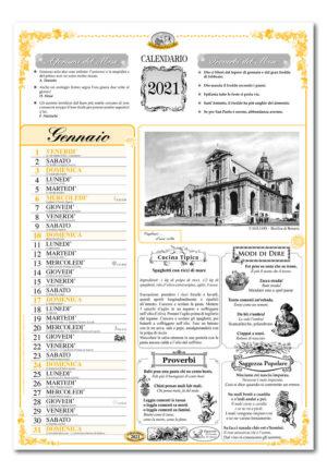 calendario dialetto 076 interno Cagliari
