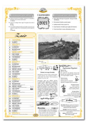 calendario dialetto 083 interno Maranello