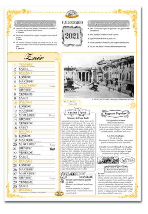 calendario dialetto 084 interno Bassa Modenese
