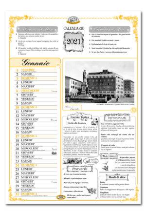calendario dialetto 088 interno Livorno