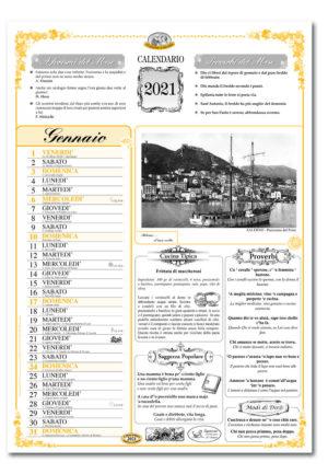 calendario dialetto 109 interno Salerno