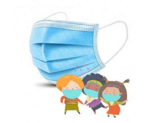 mascherina chirurgica pediatrica