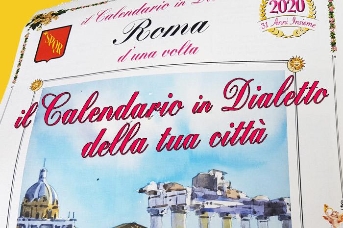 calendari in dialetto