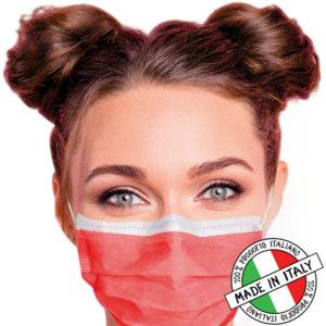 mascherine chirurgiche colorate